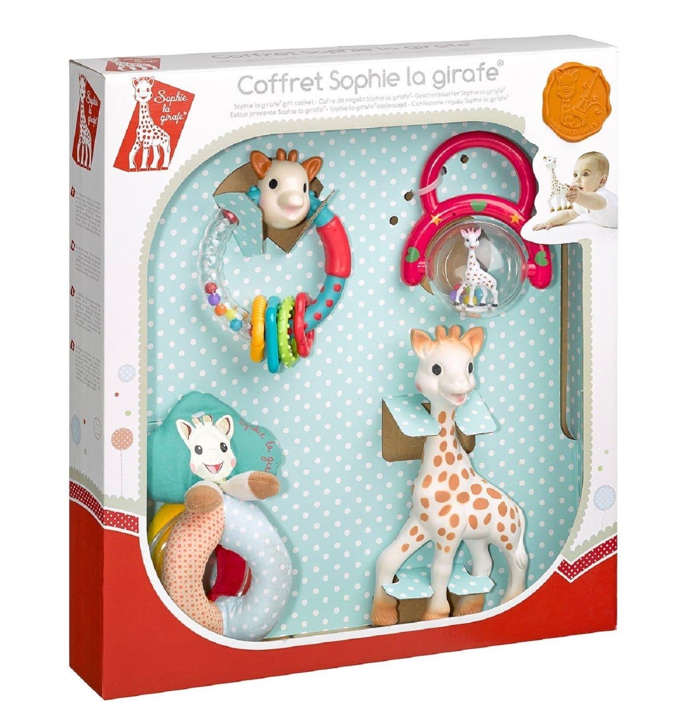 coffret sophie la girafe testeur du dimanche. Black Bedroom Furniture Sets. Home Design Ideas