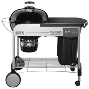 meilleur barbecue weber, haut de gamme Weber 15501998 Performer Deluxe GBS Gourmet Barbecue à Charbon Noir Diamètre 57 cm