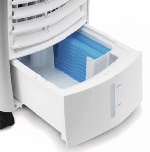 contenance du réservoir d'un rafraichisseur d'air
