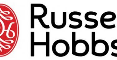Logo marque russell hobbs