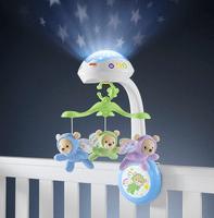Mobile bébé avec veilleuse