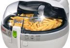 Test friteuse sans huile Seb Actifry