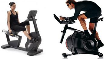 Se muscler avec un vélo d'appartement