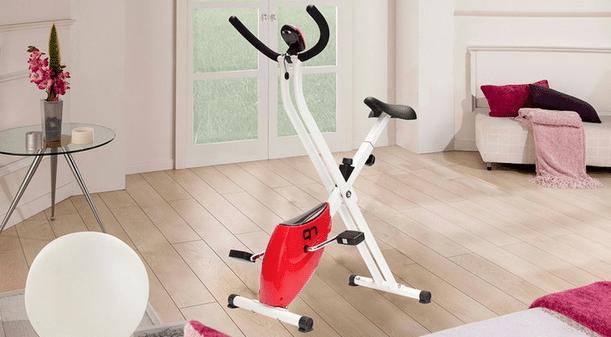 acheter vélo d'appartement pliable