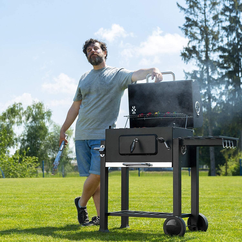 Barbecue charbon de bois CALOUNDRA OOGarden
