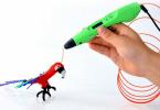 Comparatif stylo 3d