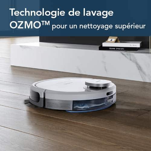 ECOVACS DEEBOT OZMO 900 aspirateur robot laveur milieu de gamme