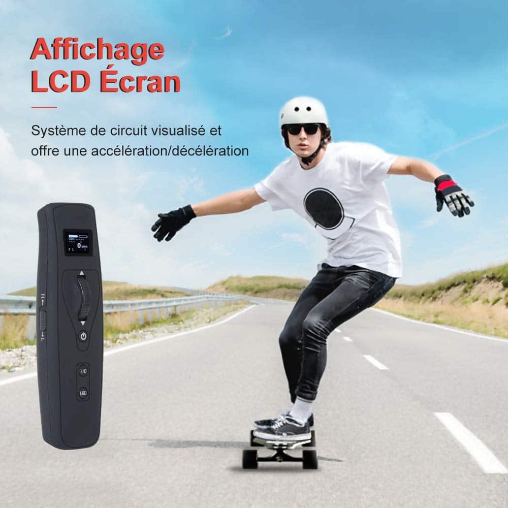 Skate électrique Teamgee H5 Longboard en promo