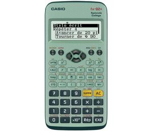 Test et avis sur la calculatrice scientifique Casio FX-92