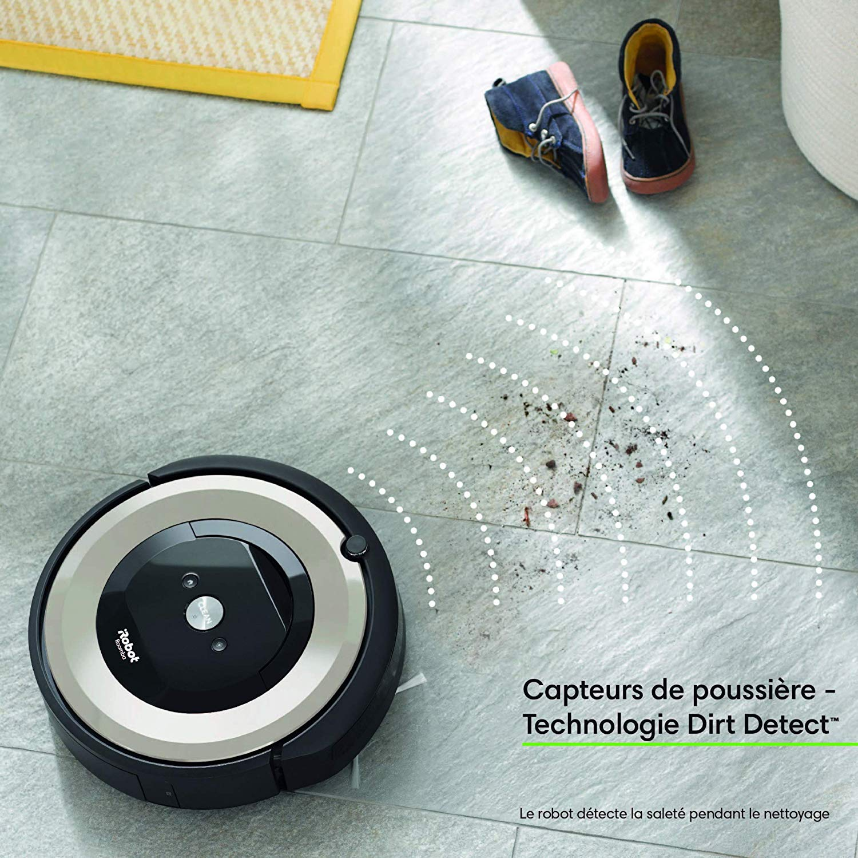 iRobot Roomba e5154 aspirateur robot poils d'animaux