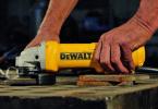 Test meuleuse d'angle DeWalt DWE4233-QS