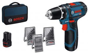 test perceuse visseuse Bosch Professional GSR 12V-15