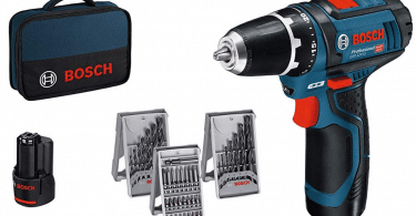 test perceuse visseuse Bosch Professional GSR 12V-15
