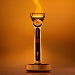 Test rasoir électrique chauffant gillette heated razor