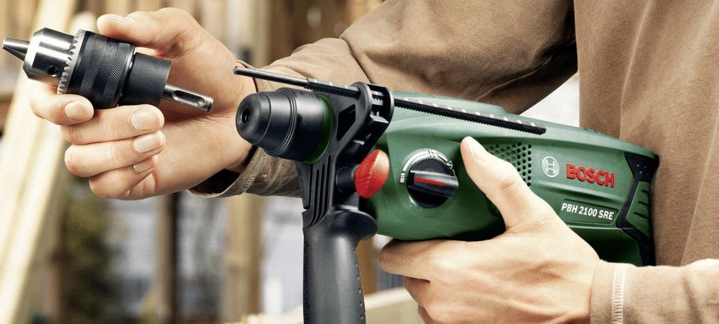 perforateur Bosch Universal PBH 2100 SRE pas cher