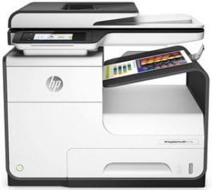 Impressora multifuncional a laser colorida HP PageWide Pro 477dw