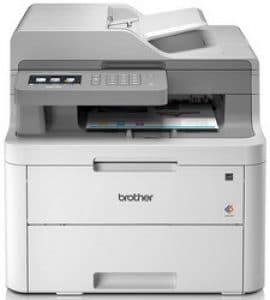 Teste de impressora laser colorida Brother DCP-L3550CDW