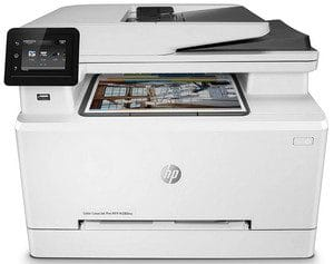 Análise da impressora a laser em cores HP Color LaserJet Pro M280nw