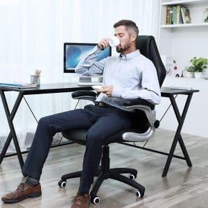 Fauteuil de bureau ergonomique SONGMICS OBG62B