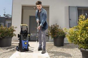 astuces nettoyer terrasse béton