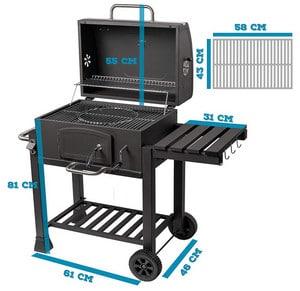 Test et avis sur le barbecue charbon Activa Angular