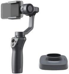 DJI Osmo Mobile 2 + Base - Support pour Smartphone et iPhone, Stabilisateur d'Image, Vidéo de Qualité