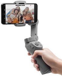 DJI Osmo Mobile 3 Combo - Estabilizador de cardan de 3 eixos compatível com iPhone e smartphone Android