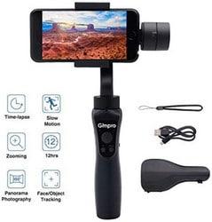 Estabilizador de smartphone portátil de 3 eixos Gimpro Gimbal para telefone celular