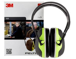 Test et avis sur le casque anti bruit chantier casque 3M Peltor X4A adulte