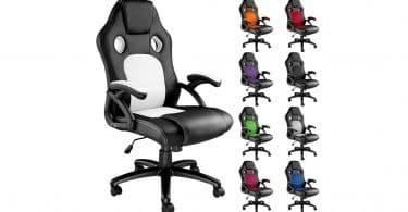 Test et avis sur le fauteuil de bureau Tectake