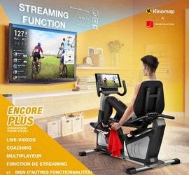 Avis vélo d'appartement ergomètre Sportstech ES600