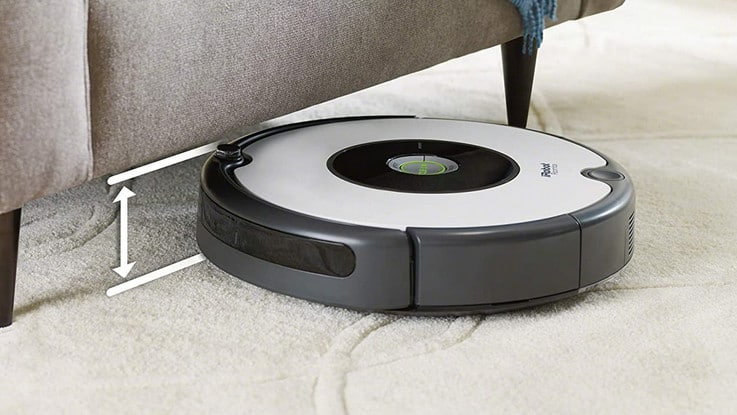 Test robot aspirateur iRobot Roomba 605