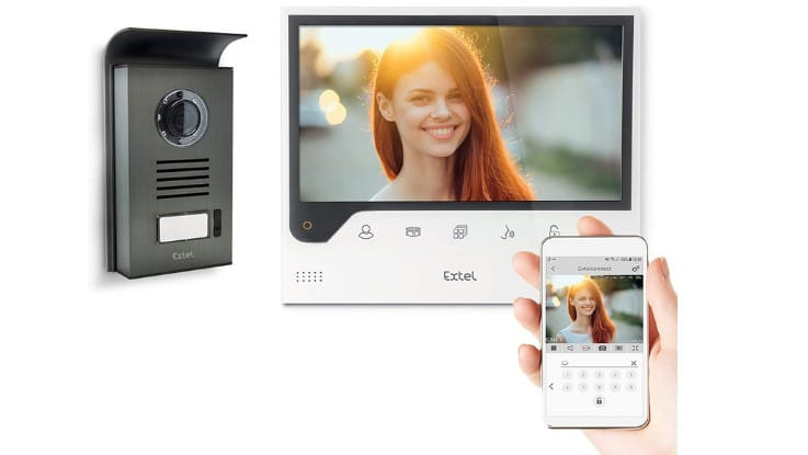 Test visiophone Extel Connect