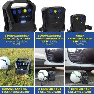 compresseur à Air Michelin 009522 sans fil