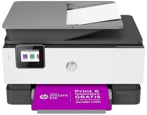 Test et avis sur l'imprimante wifi HP OfficeJet Pro 9012 AiO Printer Basalte