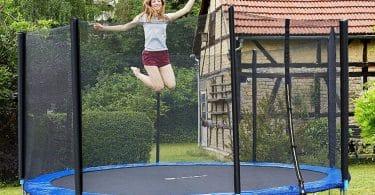 Comparatif pour choisir le meilleur trampoline de jardin