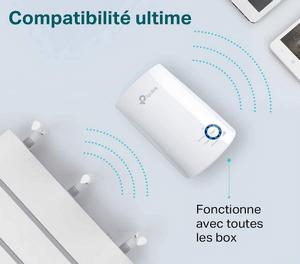 Amplificateur wifi compatible toutes box internet