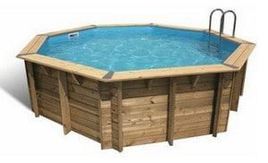 Test et avis sur la piscine en bois Ubbink Océa 430