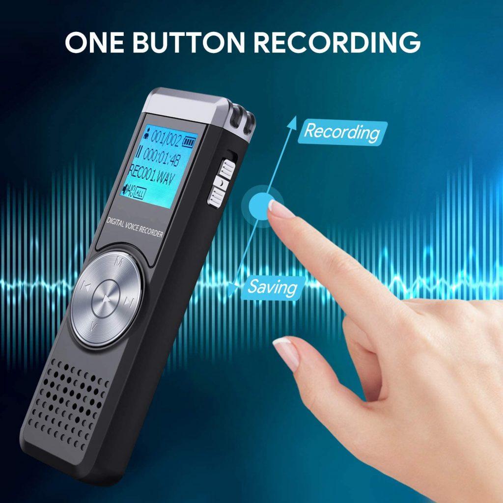 32Go Dictaphone Enregistreur Numérique
