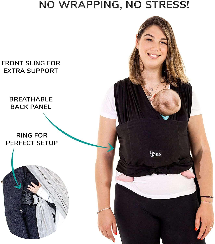 Écharpe de portage sans nœud Koala Babycare