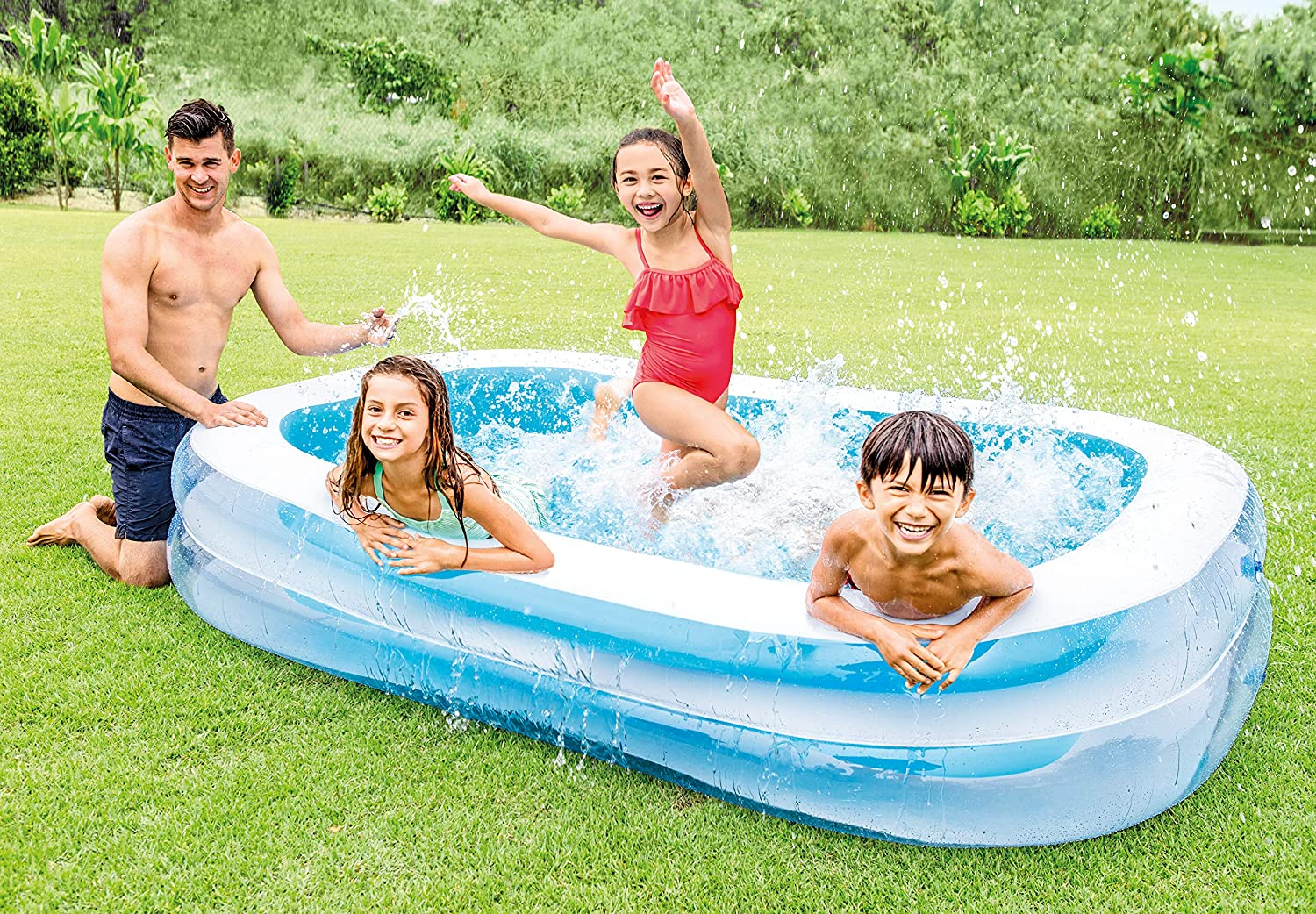Piscine gonflable rectangulaire Intex