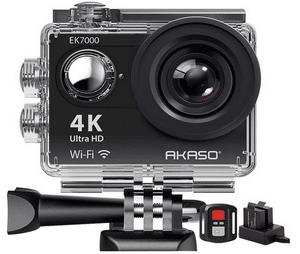 Test et avis sur la caméra étanche pour le ski 4K Akaso
