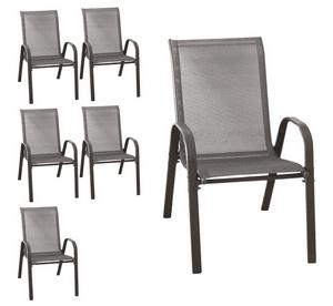 Test et avis sur la chaise de jardin empilable Wohaga