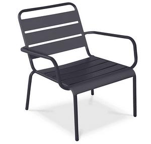 Test et avis sur la chaise de jardin en métal Palavas