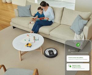 Test et avis sur l'aspirateur robot iRobot Roomba 960