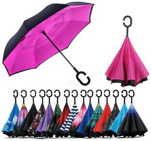Test et avis sur le parapluie de poche inversé Jooayou