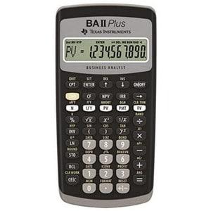 calculatrice financière Texas Instruments BA-II Plus