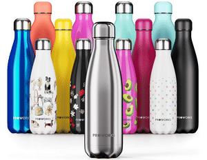 Test et avis sur la bouteille isotherme en inox Proworks