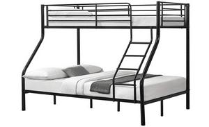 Test et avis sur le lit superposé 3 personnes en métal Neu.Haus