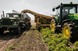matériel agricole dans la Loire